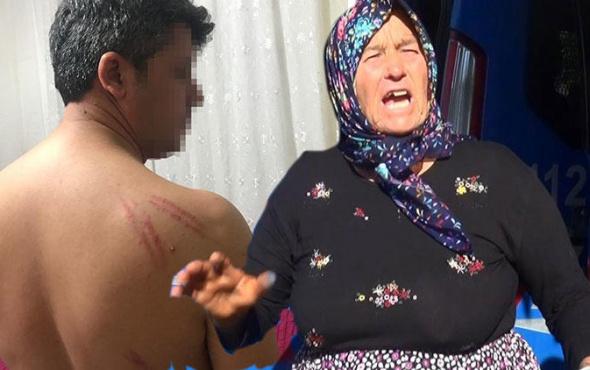 Anne ve çocuklarından işkence: Rehin alıp dövdüler!