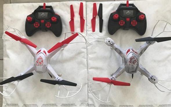 Diyarbakır'da PKK'ya ait iki drone ele geçirildi! Dikkat çeken forma