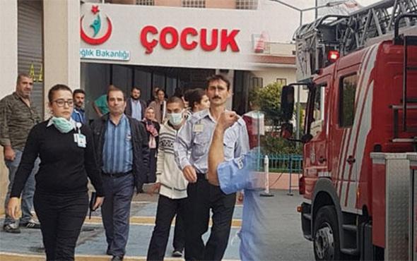 İstanbul'da korkutan yangın: Hastalar tahliye edildi!