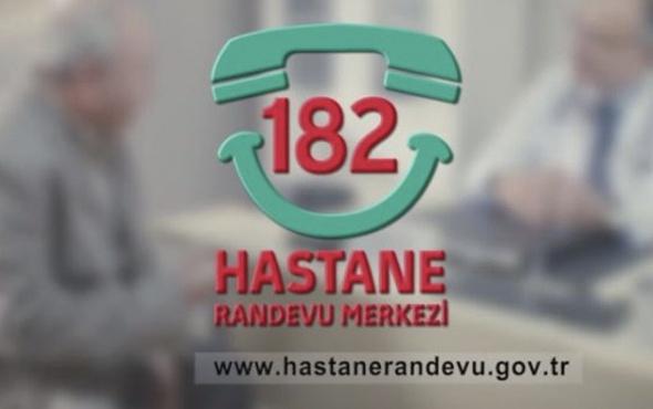 182 arama ücreti dakikası kaç para MHRS girişi-2018