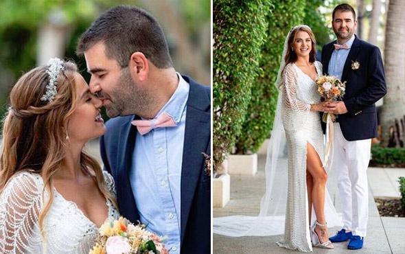 Güzel oyuncu Ceyda Ateş sessiz sedasız evlendi!