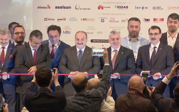 Bakan Varank AR-GE ve İnovasyon Zirvesi ve Sergisini açılışını yaptı