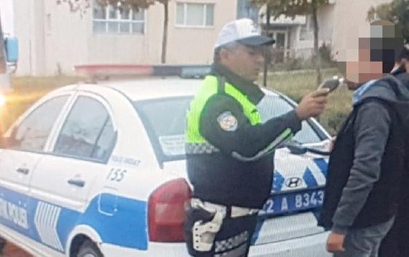 Servis sürücüsü alkollü çıktı öğrencileri okula polis bıraktı