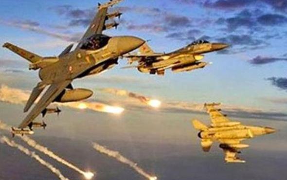 Hava bomba yağdı PKK darmadağın oldu