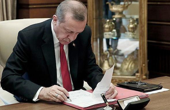 Cumhurbaşkanı Erdoğan 3 üniversiteye rektör atadı