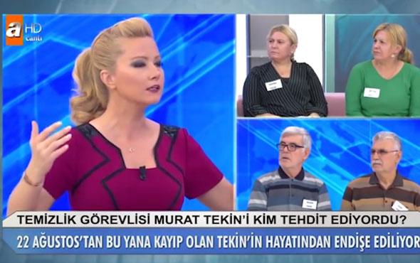 Müge Anlı isyan etti Murat Tekin olayında kararını verdi