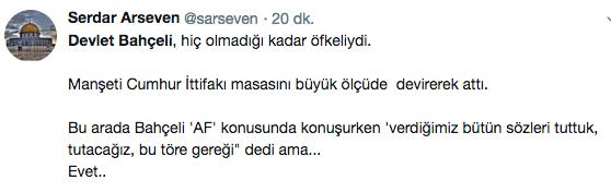 Devlet Bahçeli ittifakı bitirdi sosyal medya sallandı! Bomba yorumlar