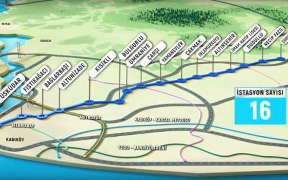 Yeni metro ilk gün 334 sefer yaptı bakın kaç kişi bindi!