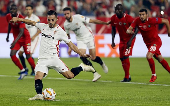 Sevilla Akhisarspor UEFA Avrupa Ligi maçı golleri ve geniş özeti
