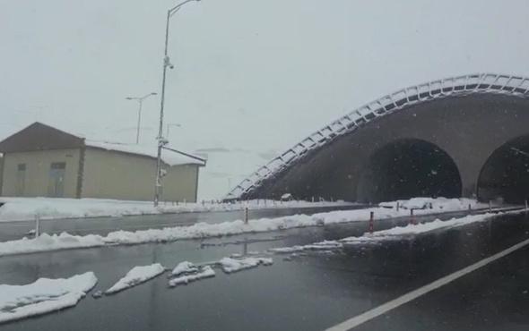 Ovit'e kar yağdı, ulaşım tünelden sağlanıyor