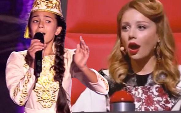 12 yaşındaki Tatar kızı, 'Doktor Civanım' şarkısıyla herkesi büyüledi