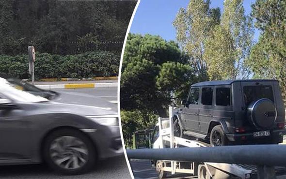 Buse Terim Tarabya'da kaza geçirdi!