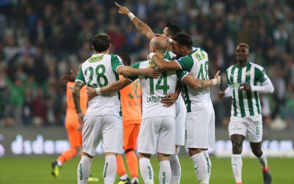 Bursaspor Alanya'yı 2 golle geçti