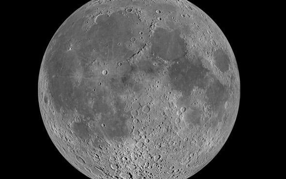 Samanyolu Galaksisi'nden yansıyan radyo dalgaları Ay'da tespit edildi