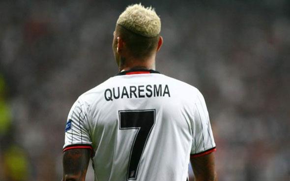 Beşiktaş taraftarının istemediği Quaresma için seferber oldular!