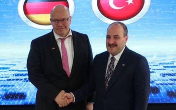 Sanayi Bakanı Varank açıkladı! Almanya masası kuruluyor