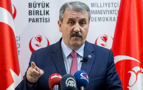 BBP'deki Yazıcıoğlu-Destici kavgasında flaş gelişme! Disipline sevkedildi...