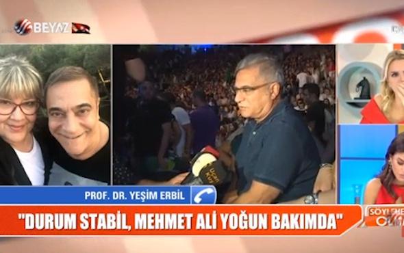 Mehmet Ali Erbil ikinci kez ameliyata alındı! Kardeşi Yeşim Erbil'den korkutan açıklama