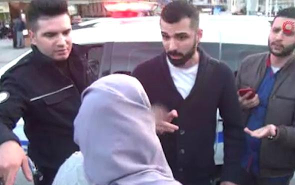 Taksim'de Filistinli kadının bileziğini çalan Suriyeli yakalandı