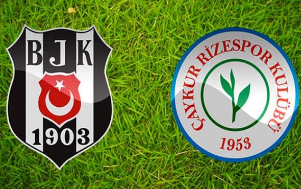 Gözler Beşiktaş'a çevrildi! Rizespor maçında 5 önemli eksik
