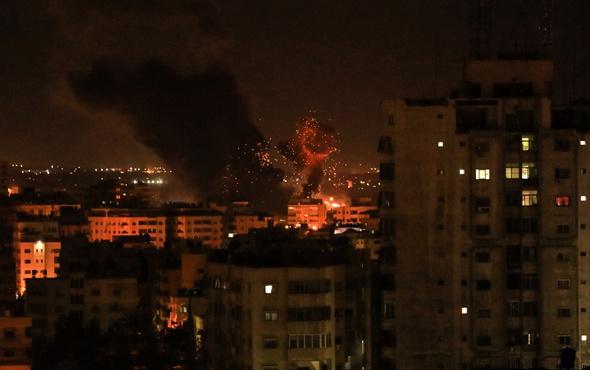 BM'den İsrail'in hava saldırısına kınama