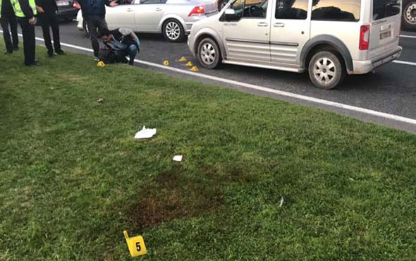 Trafikte tartıştığı kişileri vurdu