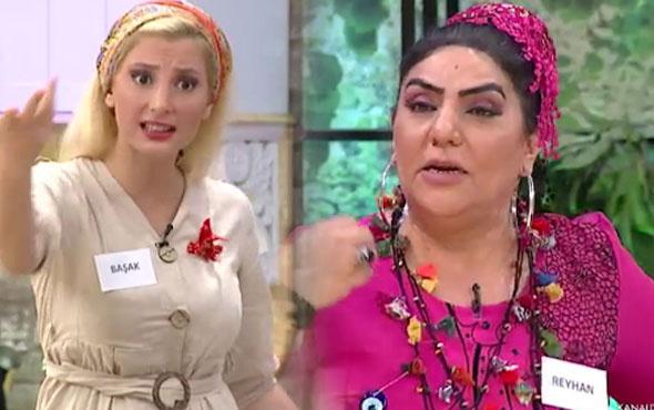 Gelinim Mutfakta'da Başak ile Reyhan hanım birbirine girdi!