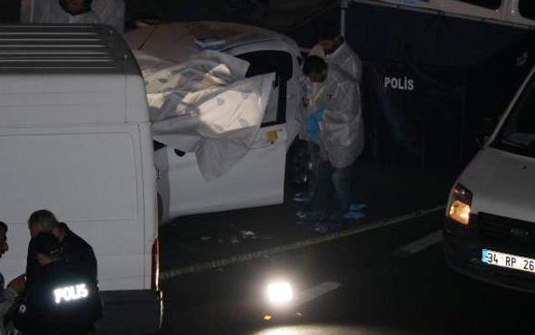 Şirinevler'de bir kişi aracında vurularak öldürüldü