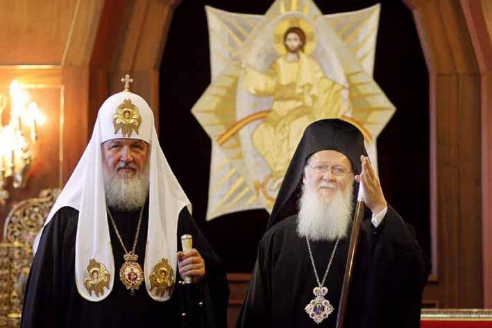 Patrikler Savaşı! Ukrayna bağımsızlık isteyince kavga çıktı