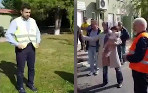 Erdoğan'ın kızı Sümeyye Bayraktar eşini böyle ıslattı!