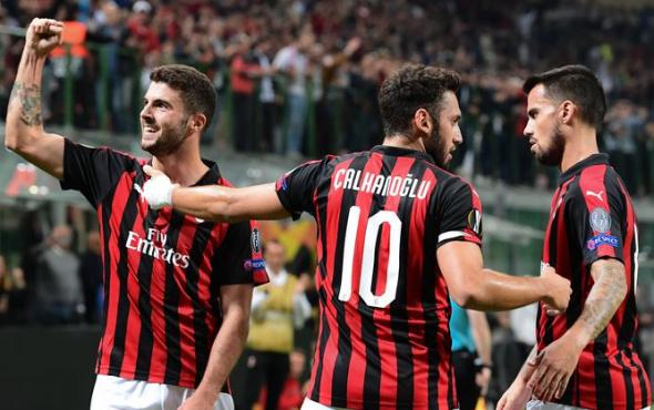 Milan'ın Hakan'ı var: 3 gollü galibiyet!