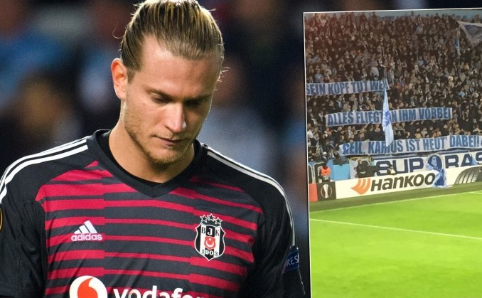 Karius'un Malmö maçında yediği hatalı gol Avrupa'nın dilinde