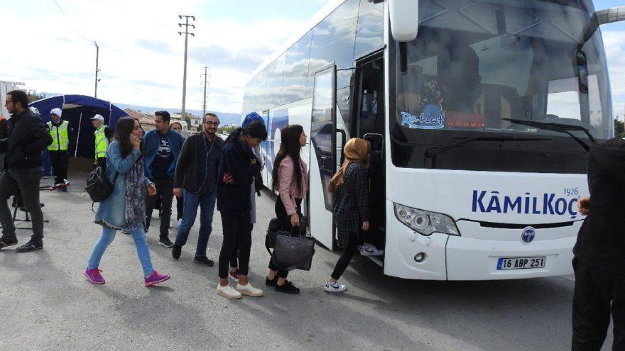 Emniyet kemeri takmayan yolculara polisten sıradışı ceza