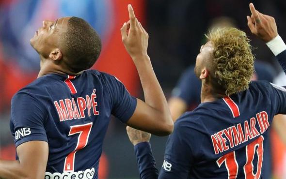 Mbappe çıldırdı! 13 dakikada 4 gol