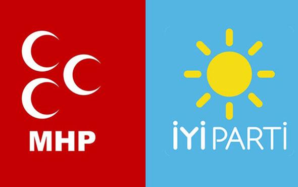 """MHP ile İYİ Parti arasında """"tükürme"""" kavgası! Hakaret, tehdit ve..."""