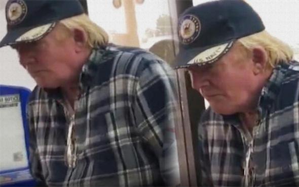 Amerika'yı karıştıran görüntü! Donald Trump'ın...
