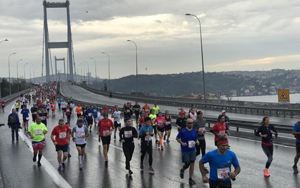 İstanbul'da maraton yarın başlıyor İşte trafiğe kapatılacak yollar
