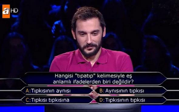 Kim Milyoner Olmak İster'de seyirciyi ekrana kilitleyen soru