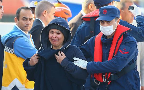 İzmir'de tekne battı göçmenlerden acı haber