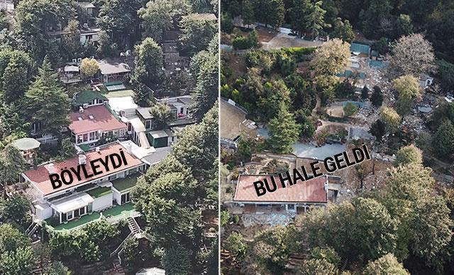 Adnan Oktar'ın villasındaki yıkım bitti işte lüks villanın eski ve yeni hali... - Sayfa 1