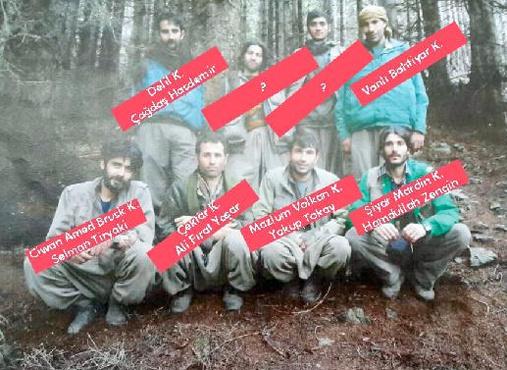 İzmir'den gelip PKK'nın Karadeniz grubunun tamamını temizlediler