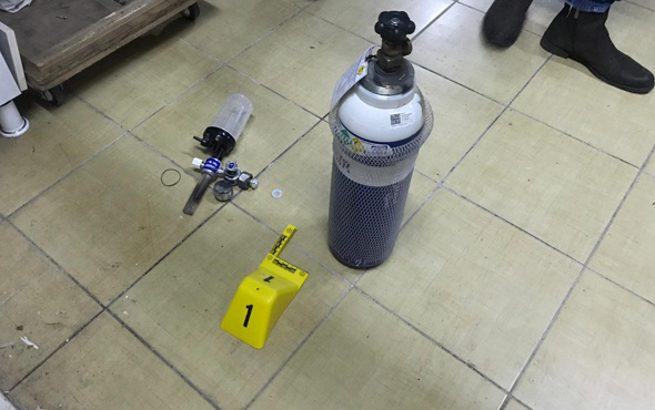 Üniversitenin laboratuvarında patlama
