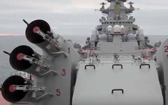 Rusya nükleer gemilerle tatbikat yaptı