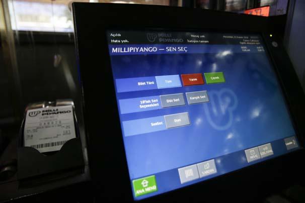 Milli Piyango biletlerinde devrim bilet numarasını sen belirle...