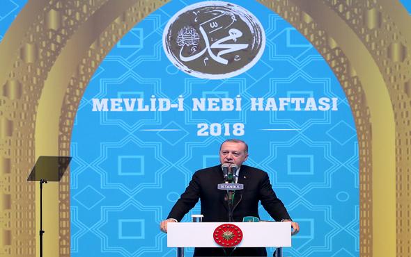 Erdoğan'dan o ziyaret için açıklama: Siyasi malzeme yapılmasın