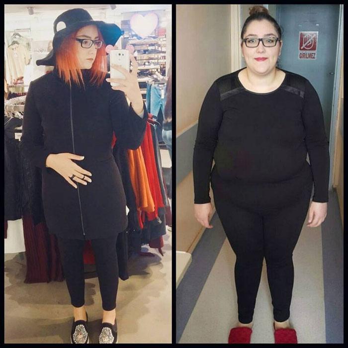 127 kilodan 67 kiloya düştü görenler tanıyamıyor...