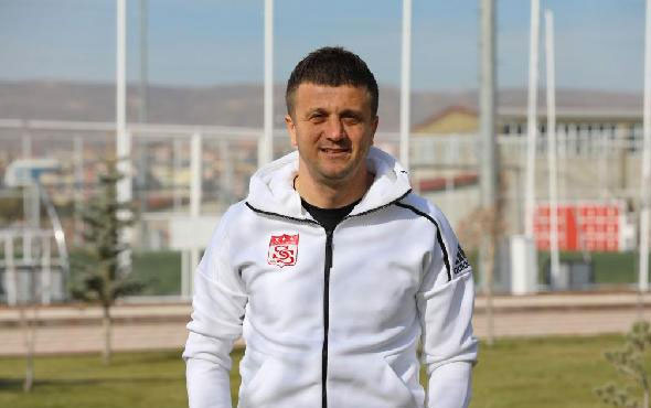 Sivasspor'un yeni teknik direktörü Hakan Keleş oldu