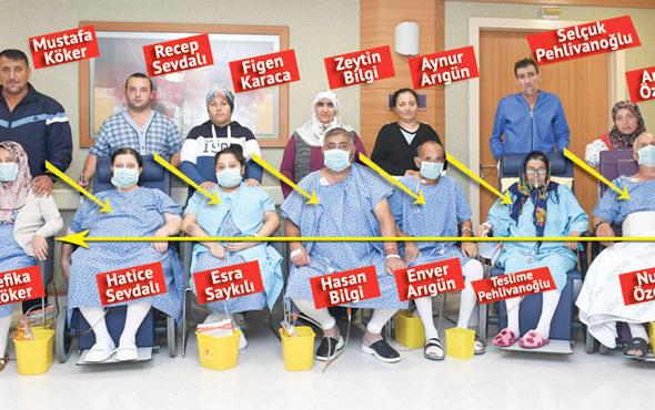 Türk doktorlardan son yılların en büyük böbrek nakli