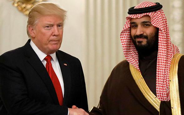 Trump'tan Selman'la görüşme açıklaması