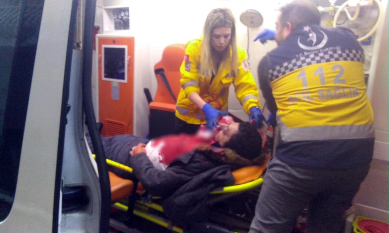 İstanbul'da lüks otomobile silahlı saldırı!
